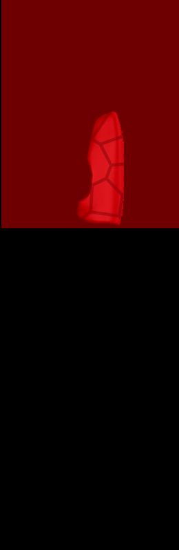 Sr hand cover inside %28voronoi%29   vivid red
