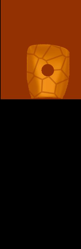 Sr hand cover %28voronoi%29   orange