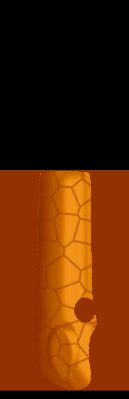 Sr arm cover inside %28voronoi%29   orange