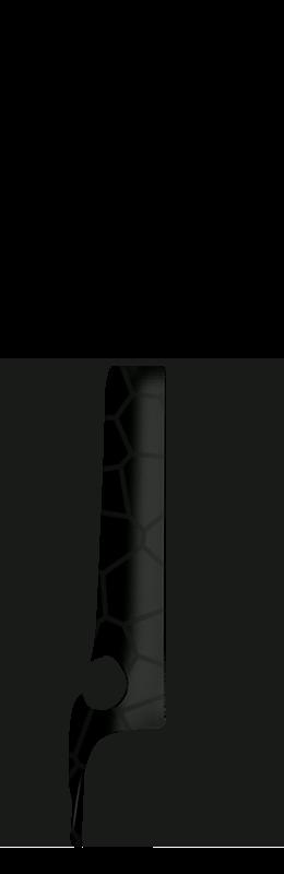 Sr arm cover front left %28voronoi%29   black