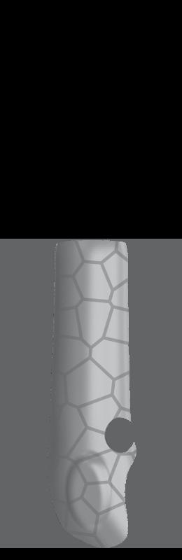 Sr arm cover inside %28voronoi%29   silver