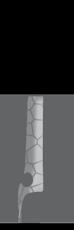 Sr arm cover front left %28voronoi%29   silver
