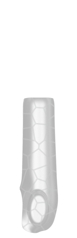 Sr arm cover outside %28voronoi%29   white