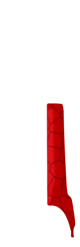 Sr arm cover front right %28voronoi%29   vivid red