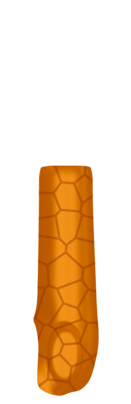 Sr arm cover outside %28voronoi%29   orange