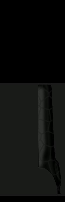 Sr arm cover front right %28voronoi%29   black