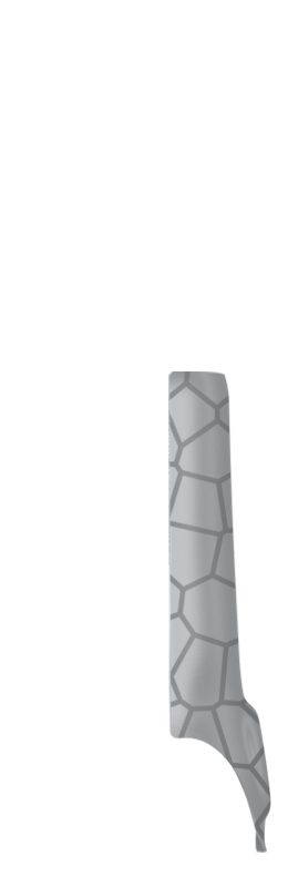Sr arm cover front right %28voronoi%29   silver