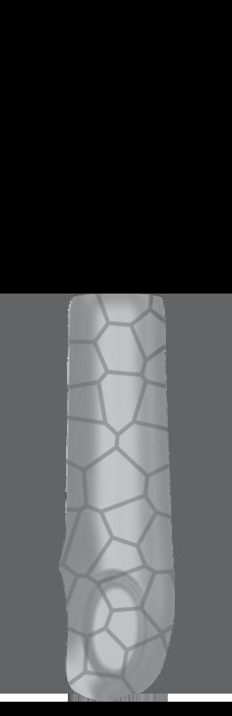Sr arm cover outside %28voronoi%29   silver