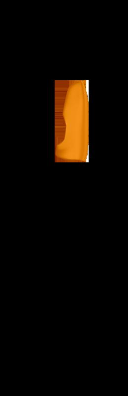 Sr side view hand cover %28inside%29   lava orange