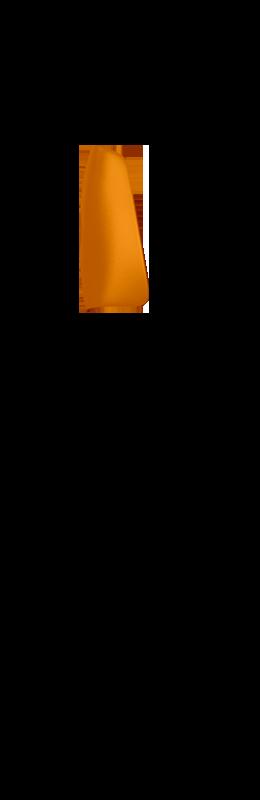Sr side view hand cover %28outside%29   lava orange